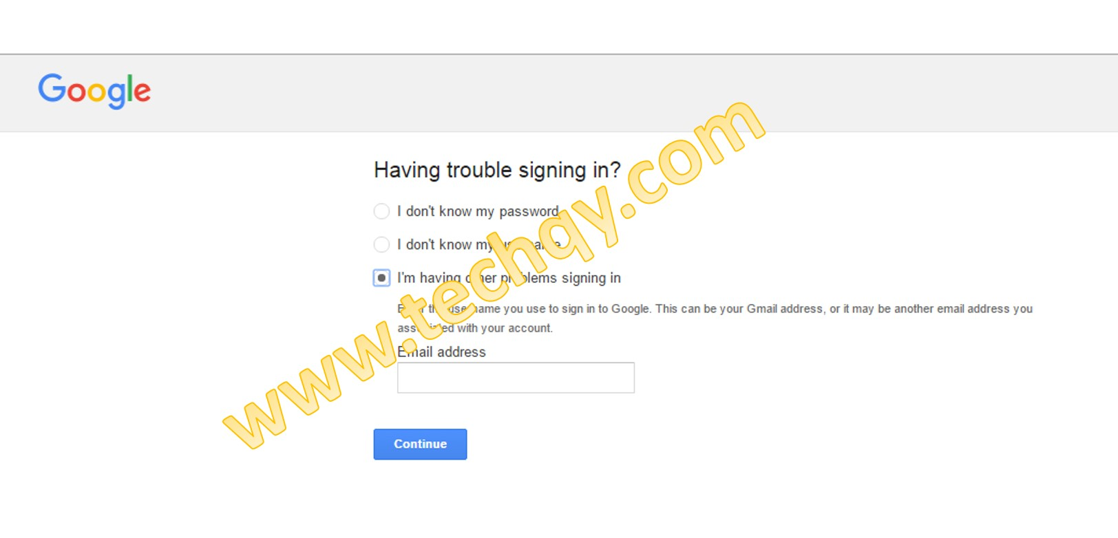 How to Recover a Gmail Password