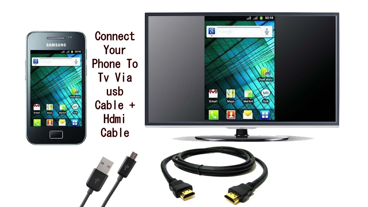 Using the HDMI cable