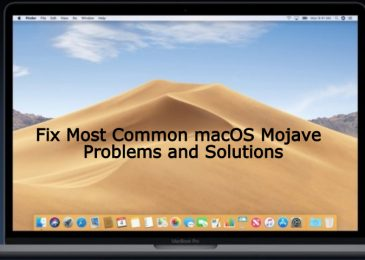 How To Solve macOS Mojave Issues
