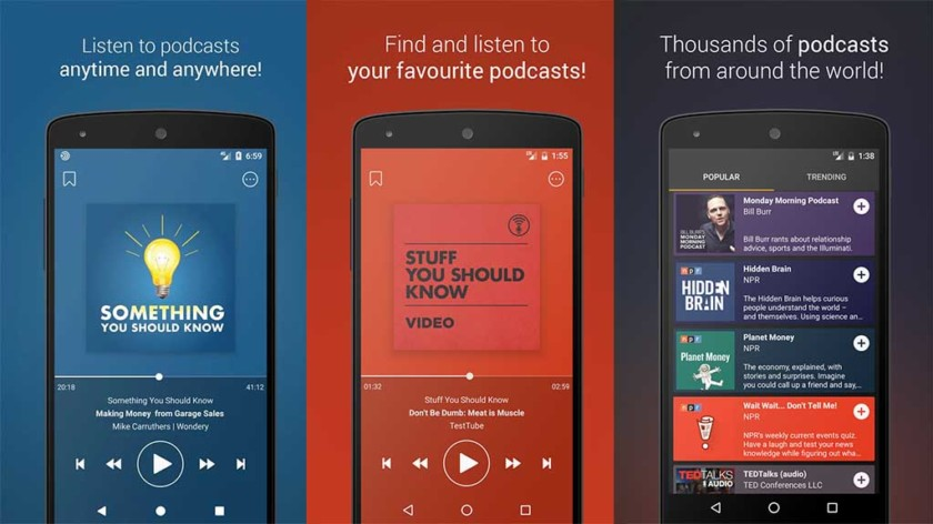 9 Best Podcast Apps For Android To Use In 2019