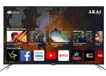 Akai India Rolls Out 50 Inch 4k Ultra HD Smart Led TV Towering The Global Television Market