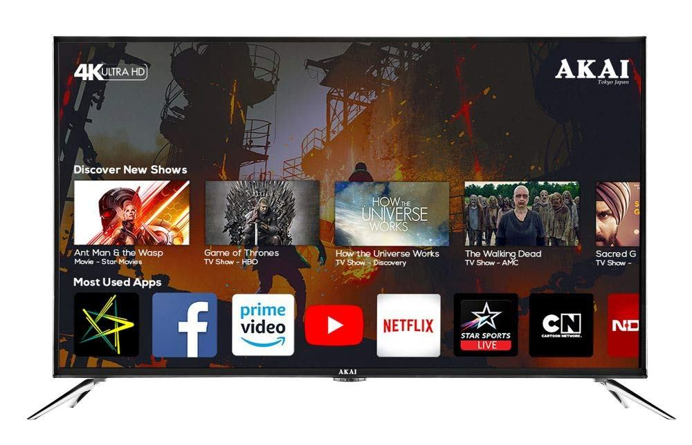 Akai India Rolls Out 50 Inch 4k Ultra HD Smart Led TV
