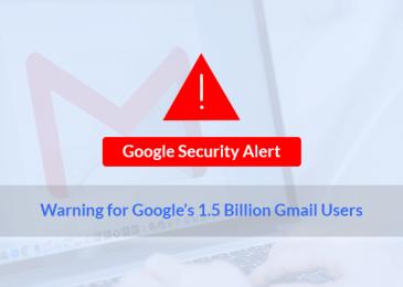Google Security Alert For 1.5 Billion Gmail & Calendar Users