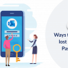 Top Three Ways To Recover Lost Outlook Password
