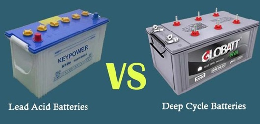 Difference Between A Normal Lead-Acid Car Battery And A Deep Cycle Battery
